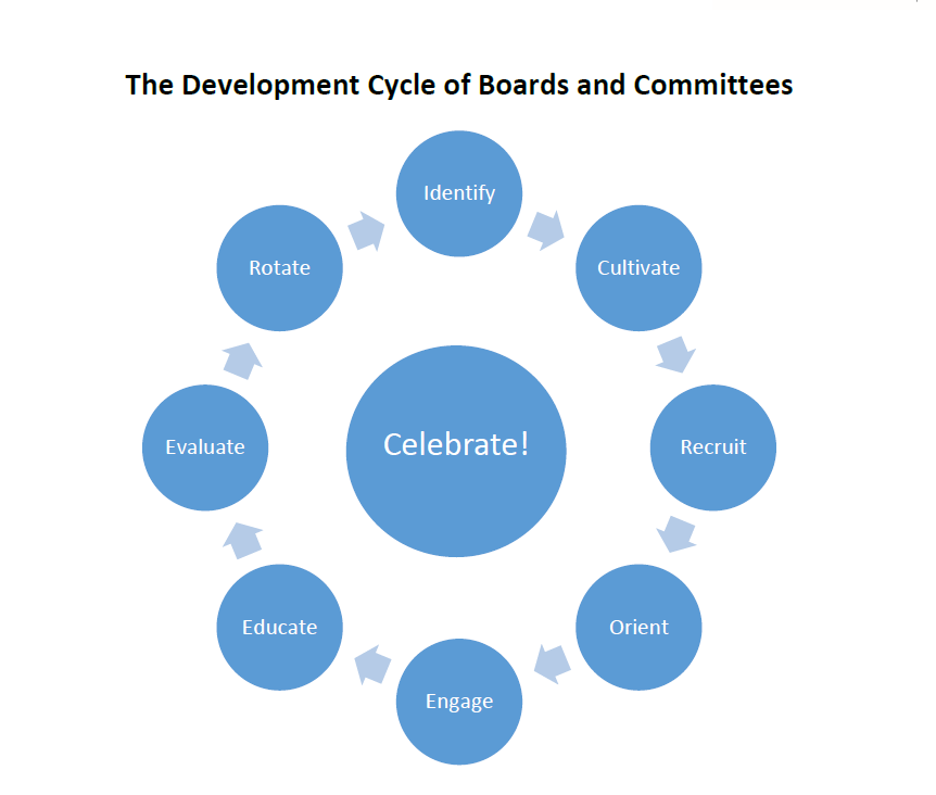 The Development Cycle of Boards and Committees